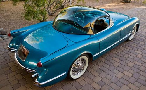 1954 Chevrolet Corvette Bubbletop Roadster 2