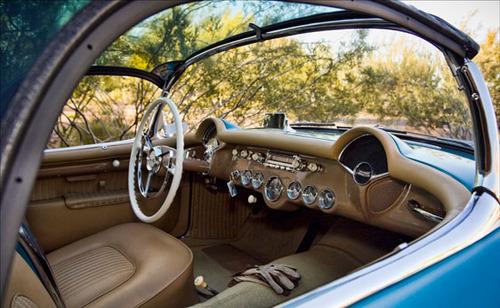 1954 Chevrolet Corvette Bubbletop Roadster 1