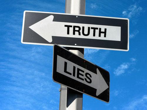 одна правда много лжей