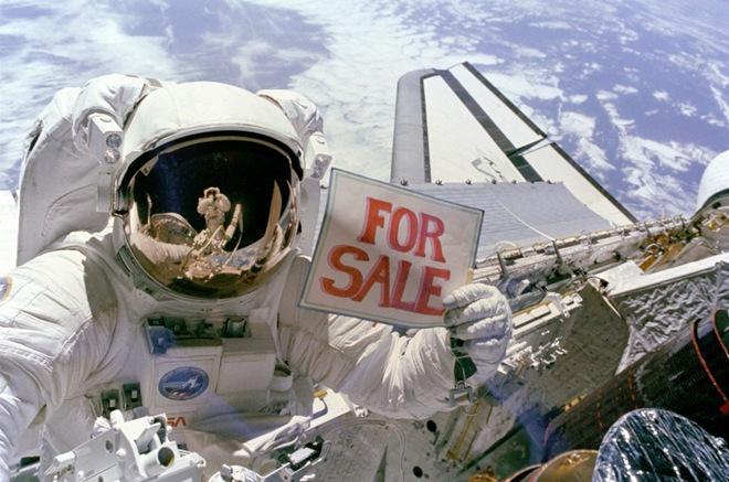 астронавты шутят