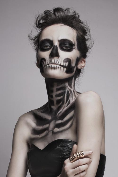 грим скелетный