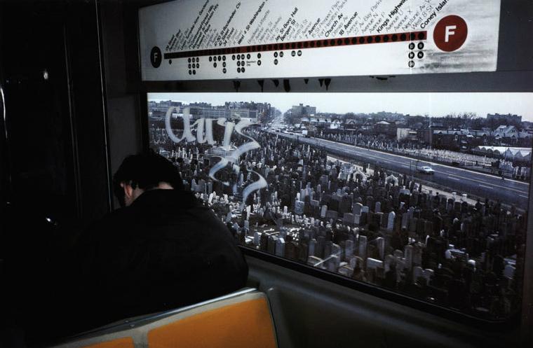 NY subway и кладбище