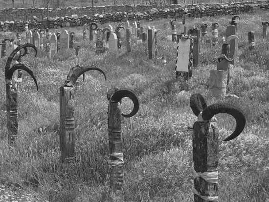 кладбище Nokhur, Turkmenistan