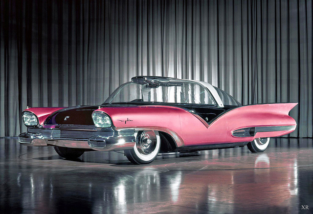 1956 concept- Ford 'Mystere'