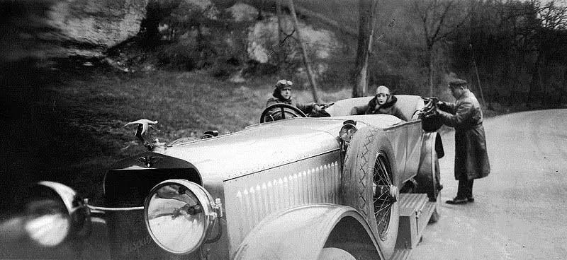 автомобиль Hispano Suiza 1927