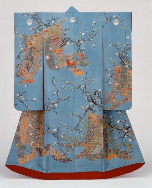 19th century kimono V&A Museum, London 1