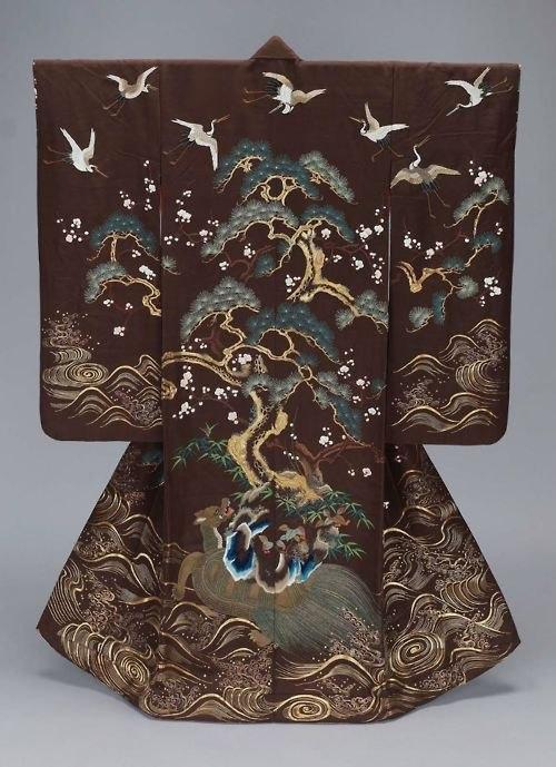19th century kimono V&A Museum, London 3