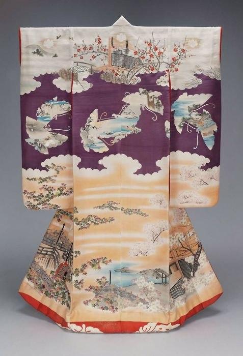 19th century kimono V&A Museum, London 4