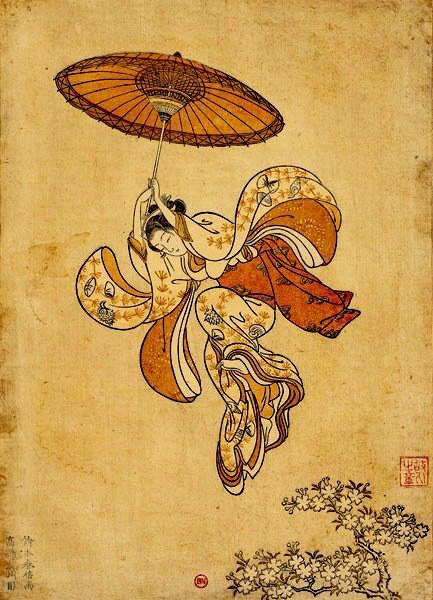 Suzuki Harunobu 18 век