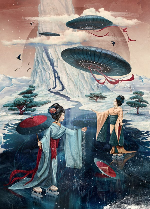 поток Сансары замёрз по пути к океану Нирваны