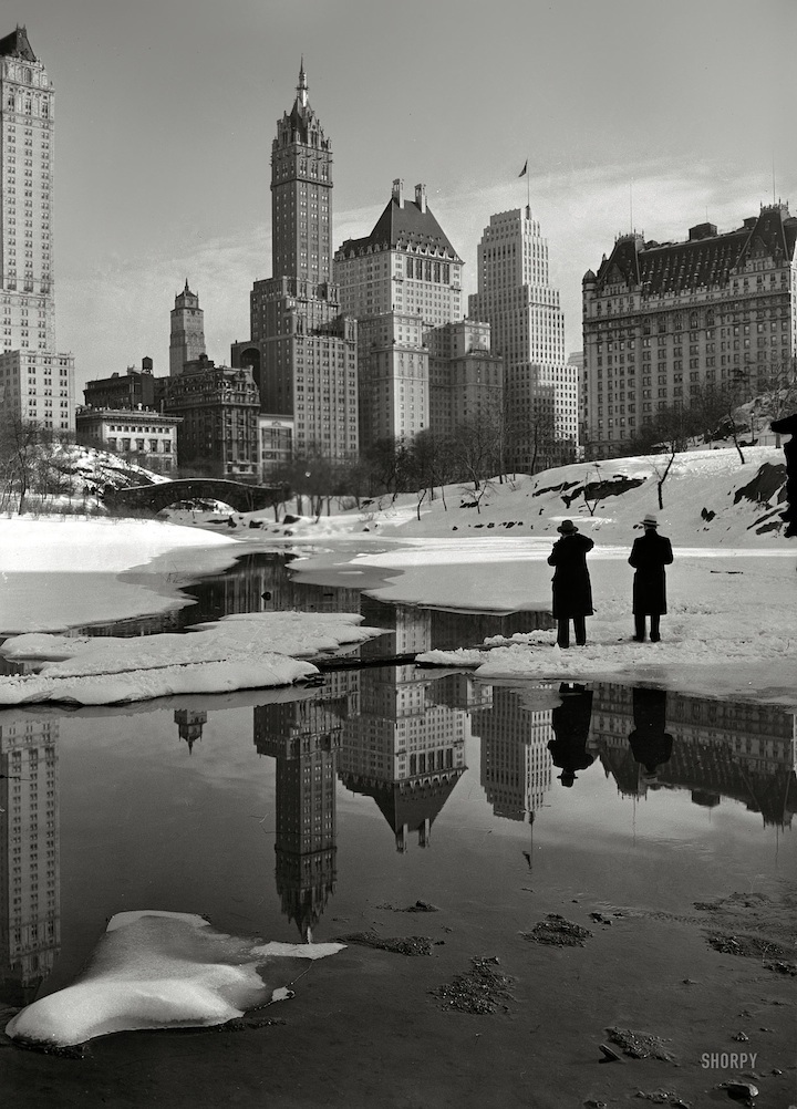 New York City from Central Park 1933