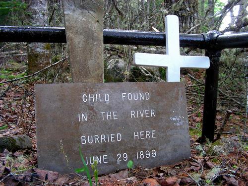 надгробие неизвестного ребёнка