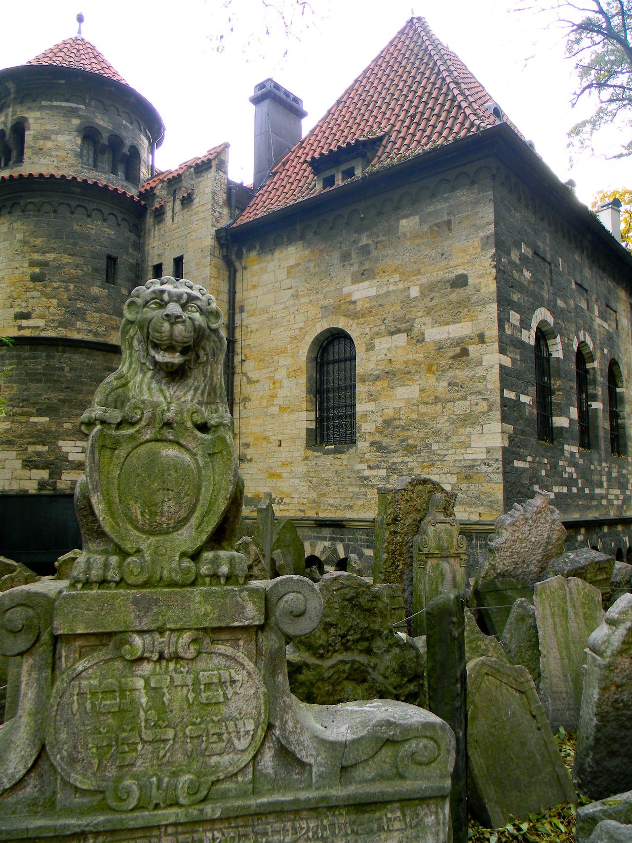 старое еврейское кладбище Прага