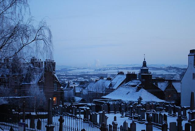 старое кладбище зимой 3