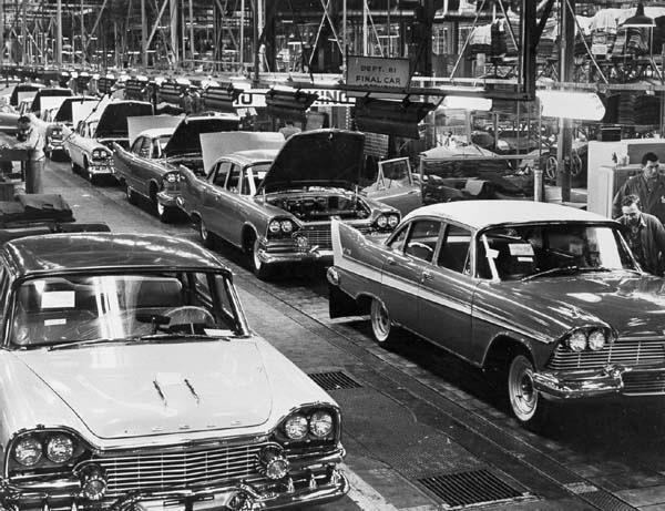1958 Доджи и Плимуты
