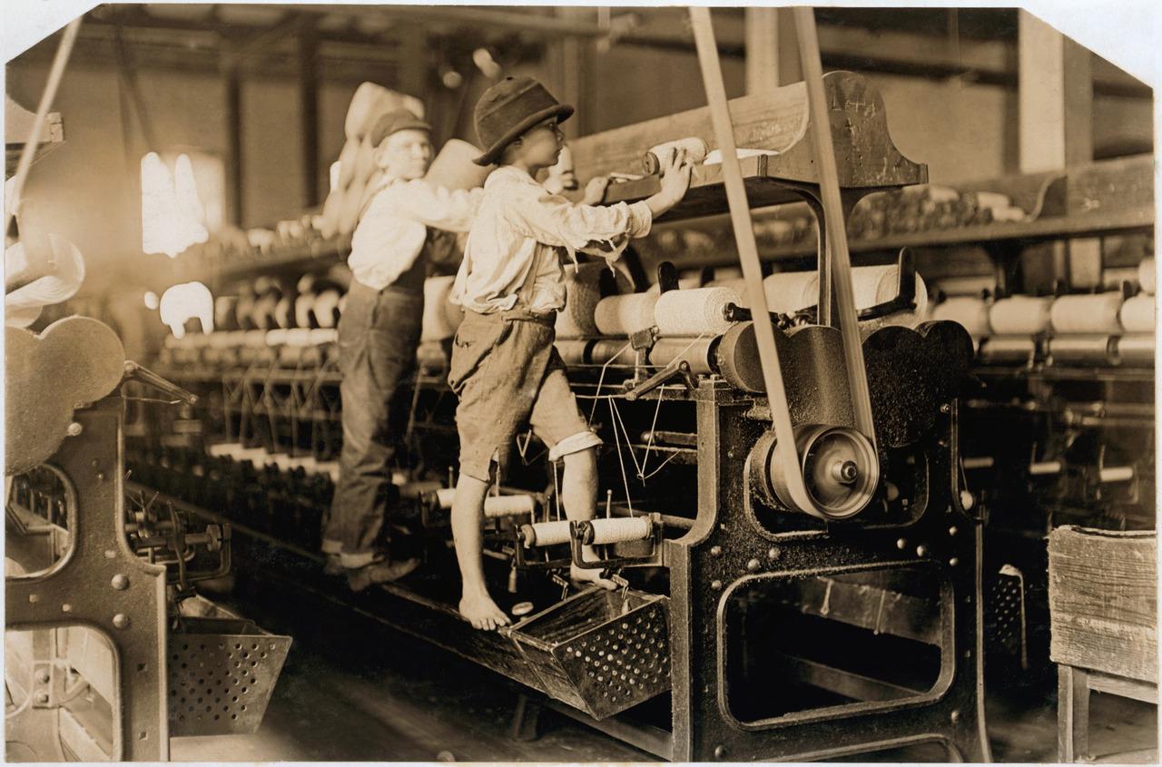 дети рабочие Джорджия 1909