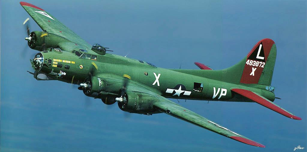 Б-17 Летающая Крепость