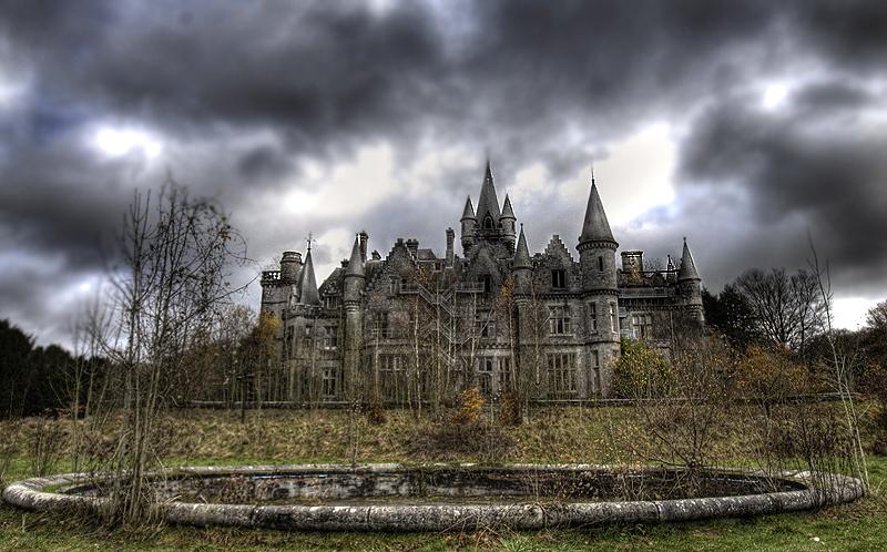 брошенный замок 1860-1
