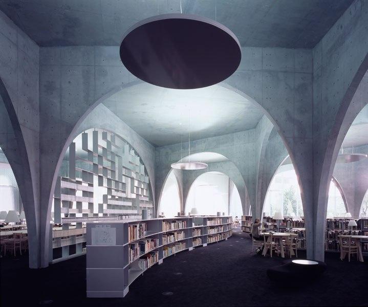 Tama Art University Library, Tokyo