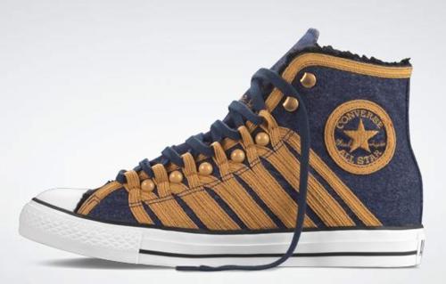 Converse All Star для Jimi Hendrix Military Jacket
