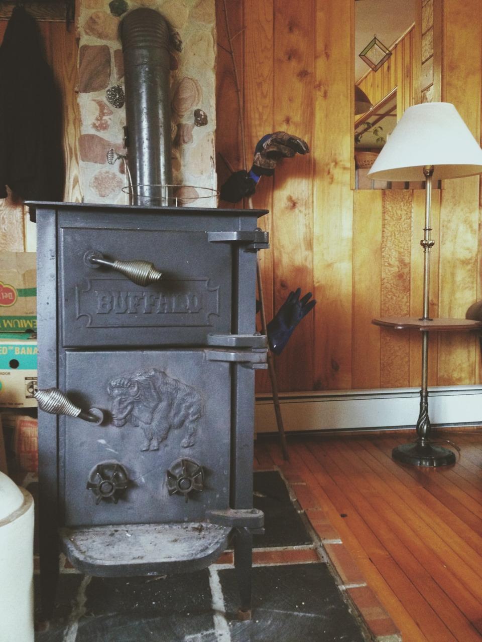 печка-буржуйка