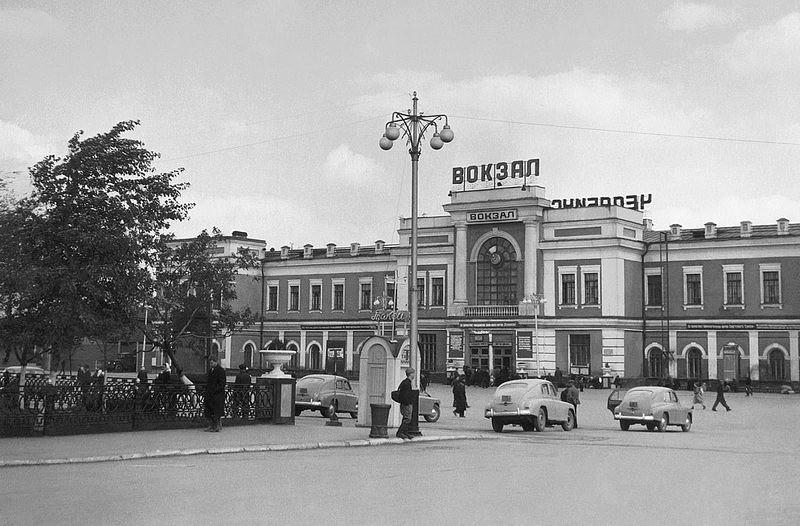 Старое здание вокзала.
