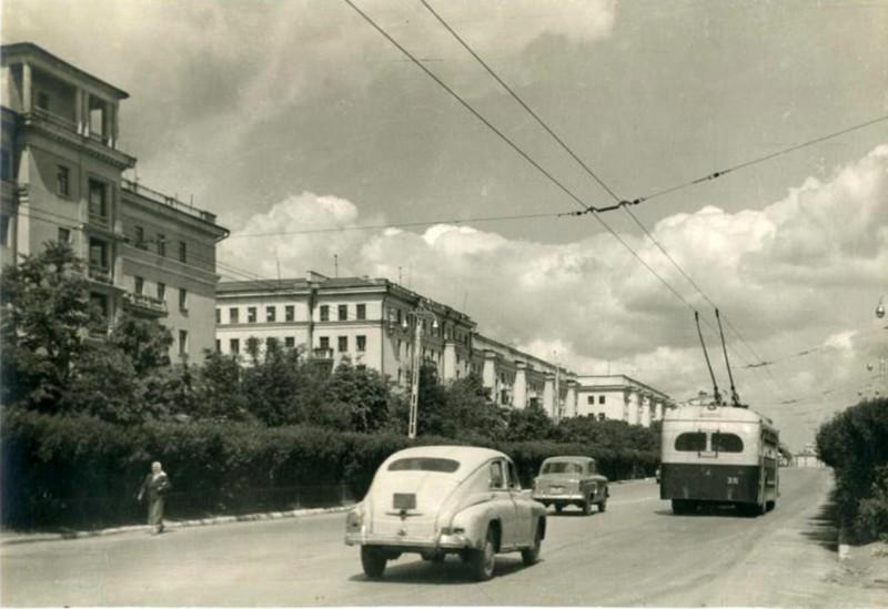 ул. Свободы в 50-х