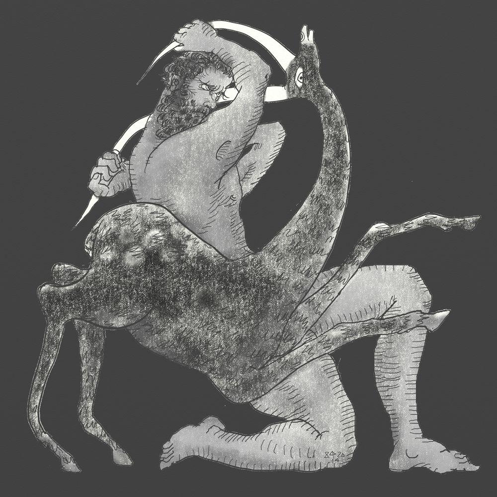 Геракл-Керинейская Лань  A018-1000