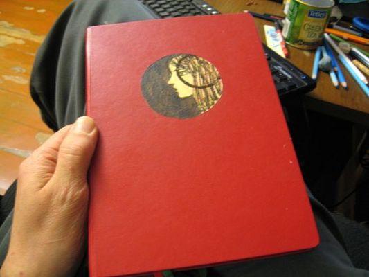 Красный Ежедневник 001
