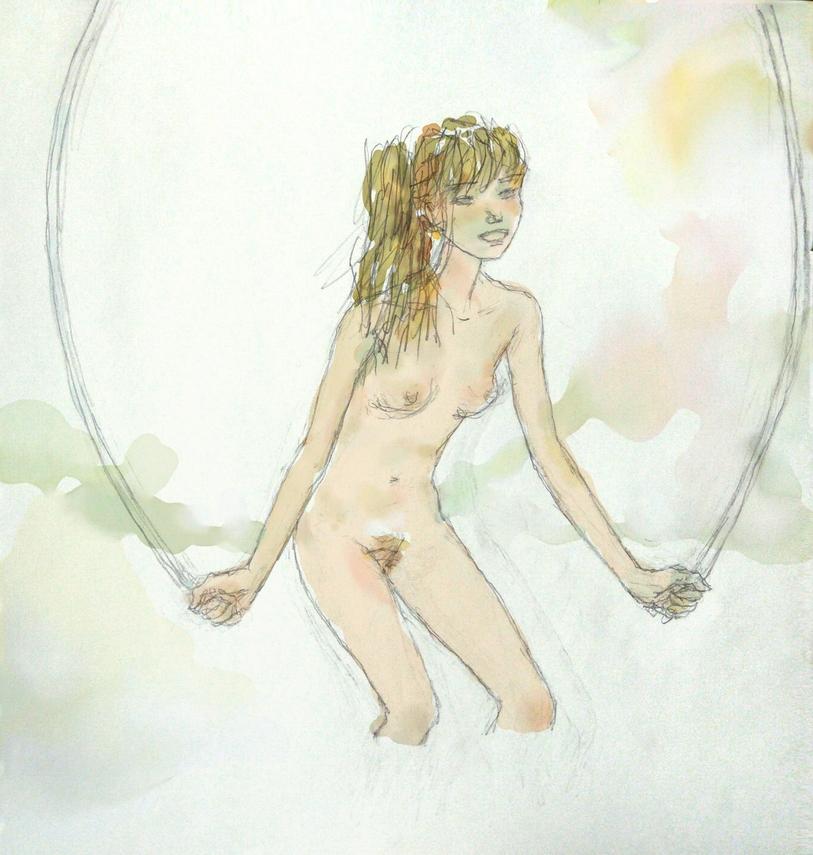 Ar+Intuos по карандашному рисунку