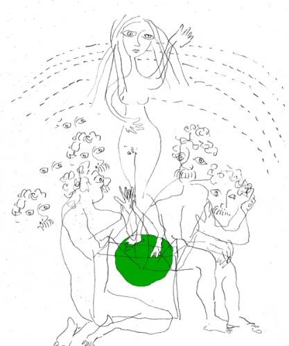 Расторгуев Апполон - Девушка на шаре