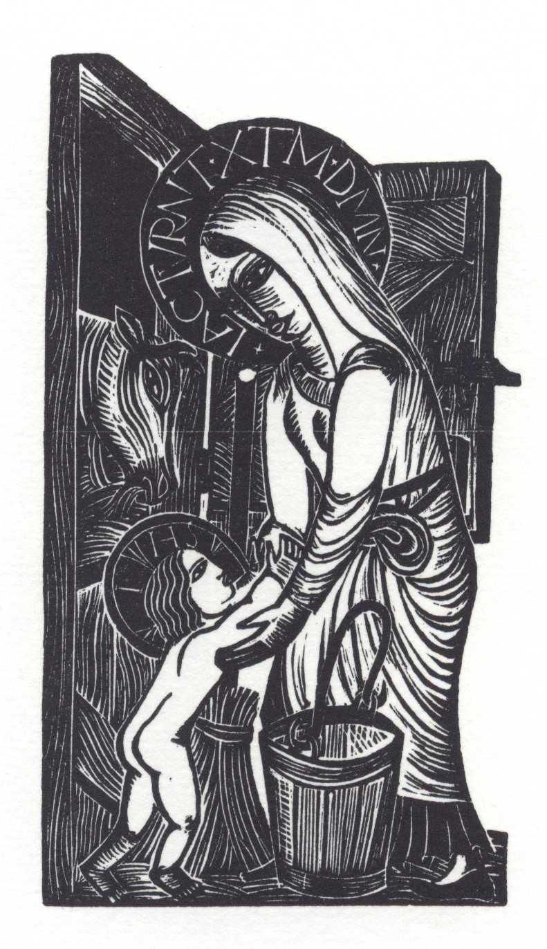 Богоматерь Кормящая (Our Lady Was a Milkmaid)