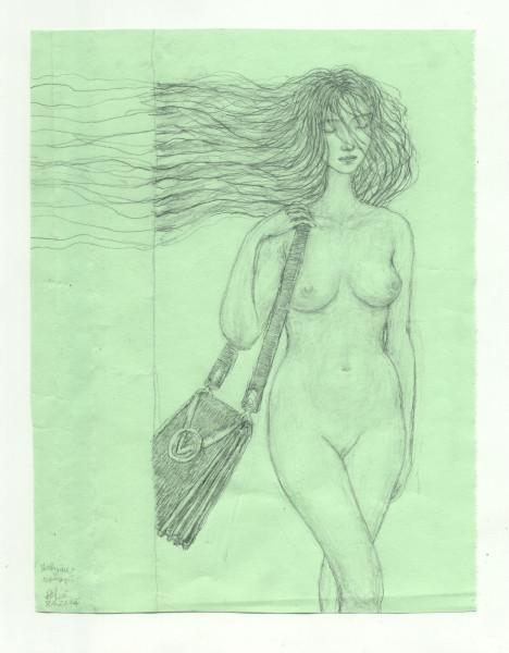Девушка с сумкой 000