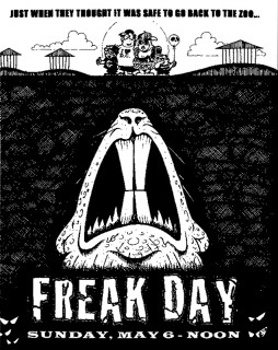 Freak Day at the Zoo - Sunday, May 6th