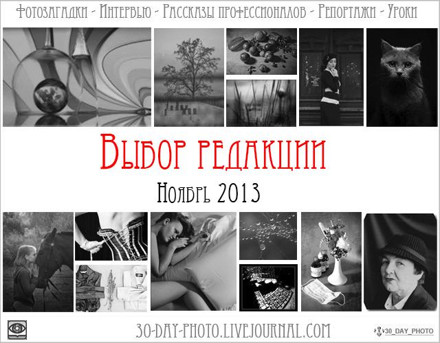 Выбор редакции   Ноябрь 2013
