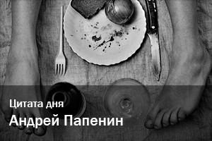 Цитата дня | Андрей Папенин