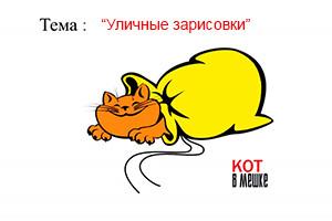 Кот в мешке -тема