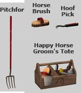 horse stall clutter - veranka