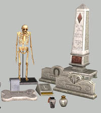 pet graves skeleton - hafise