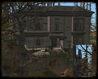 spooky houses - mistyfluff