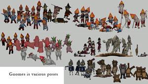gnome poses - hafiseazale