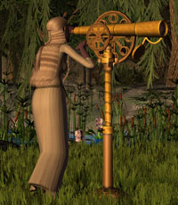 Steampunk-telescope-eva