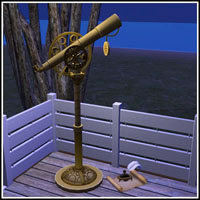 Steampunk-telescope-parchment-lmhwjs