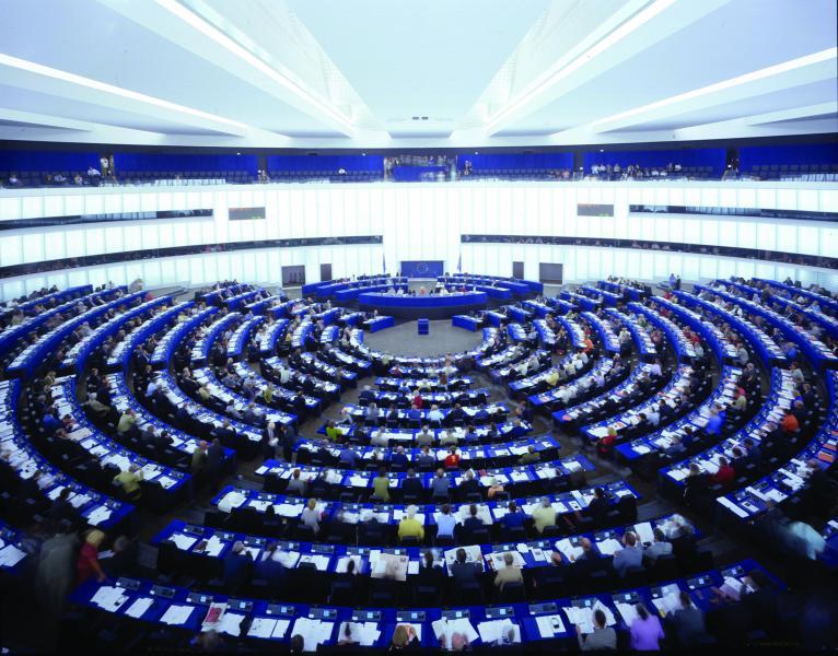 tn800x600-Semicircular auditorium - European Parliament