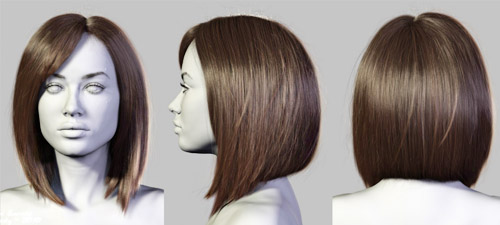 3dsmax-плагин для создания волос HairFarm