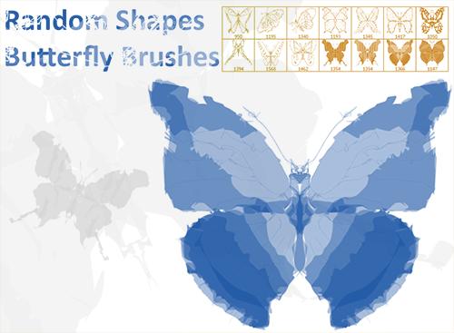 Кисти бабочек Photoshop + Alchemy
