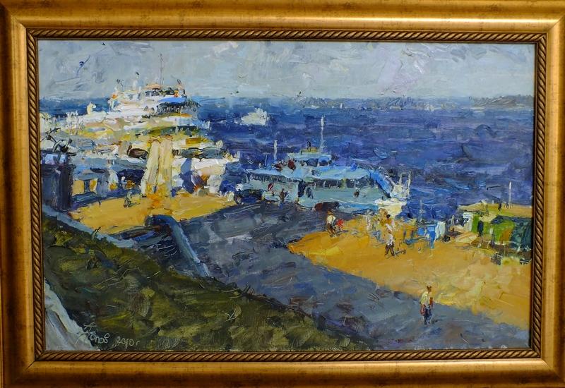 Речной порт г.Самары