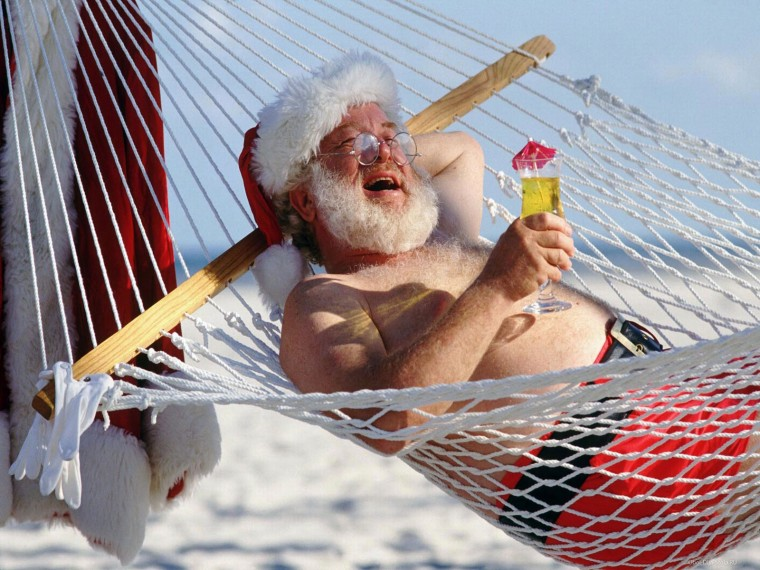 Дед-Мороз-в-отпуске