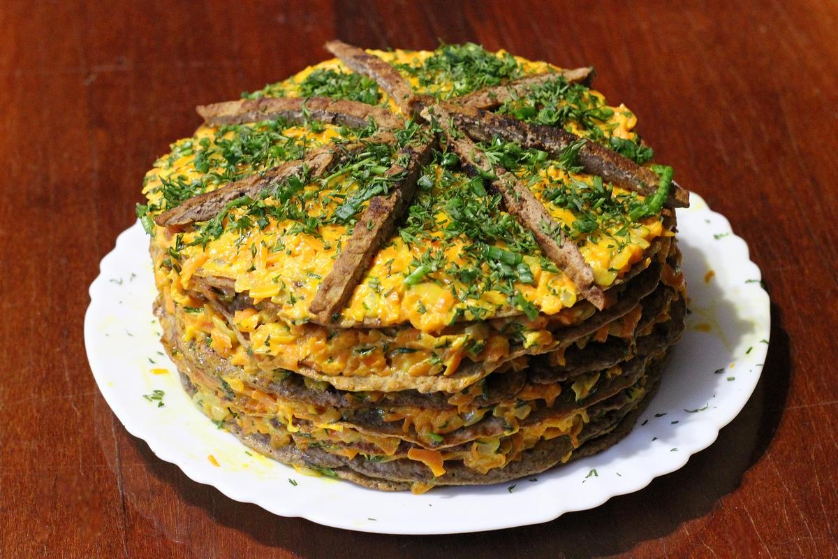 периметру обычным торт из печени рецепт с фото пошагово если