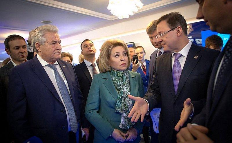 Самару отметили на высшем уровне! Дни Самарской области в Совете Федерации РФ.